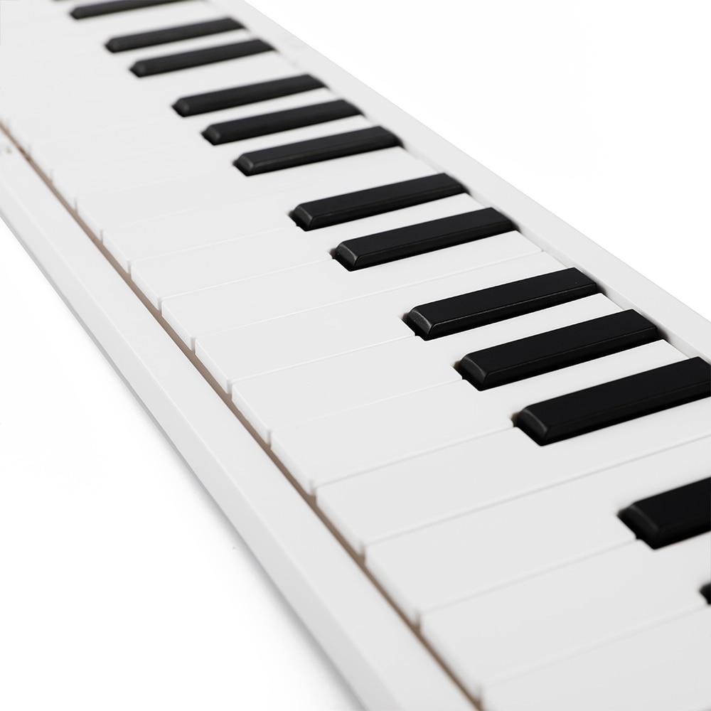 88 مفاتيح قابلة للطي البيانو الإلكترونية طوي جهاز إلكتروني 128 نغمات المزدوج رئيس سماعة إخراج لوحة مفاتيح البيانو الحفاظ على دواسة