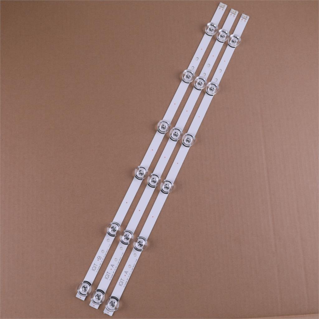 30pcs Striscia di Retroilluminazione A LED Per LG innotek YPNL-drt 3.0 32 32LB550B-ZA 32LB5600-UH 32LB561B-SC 6916l-1975A LC320DUE LV320DUE