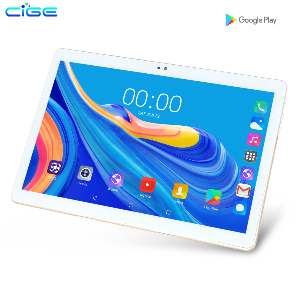 10.1 Inch Tablets  3G/4G Android 9.0 Octa Core Super Tablet PC Ram 6G Ram 128G Rom WiFi GPS 10 Tablet IPS 1280*800 Dual SIM GPS