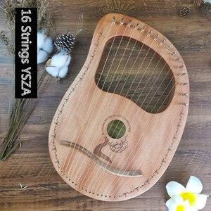 Image 5 - 7/10/16 آلة موسيقية خشبية الوترية آلة موسيقية Mahony الصلبة القيثارة الآلات