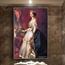 Eugenie de montijo Портрет Франца xaver винтерхолтера картина