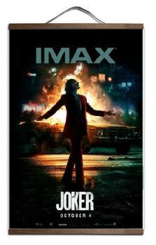 JOKER JOAQUIN PHOENIX IMAX arte de la película imprimir póster de lienzo rollo de lienzo pintura con madera