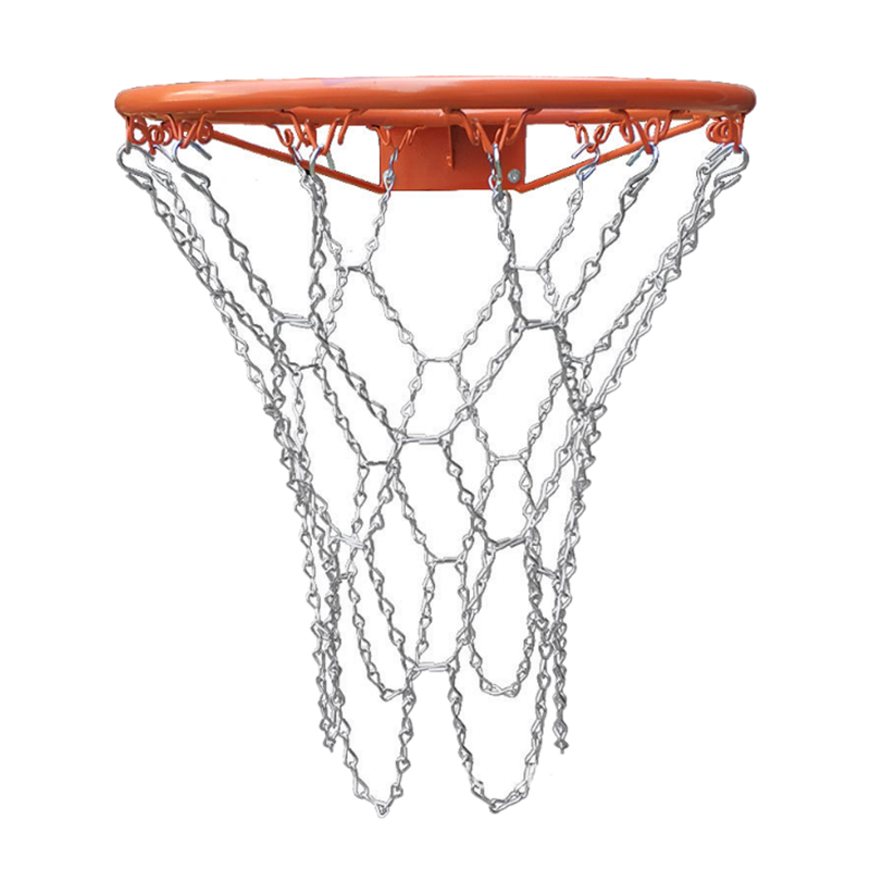 Outdoor Heavy Galvanized Iron Chain Basketball Net,Rugged And Durable, For Indoor And Outdoor