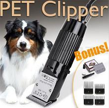 Profesjonalny elektryczny ścinanie włosów maszyna do trymer do sierści dla zwierząt 30W maszynka do włosów dla psa elektryczna maszynka do golenia zwierząt tanie tanio CN (pochodzenie) Metalworking