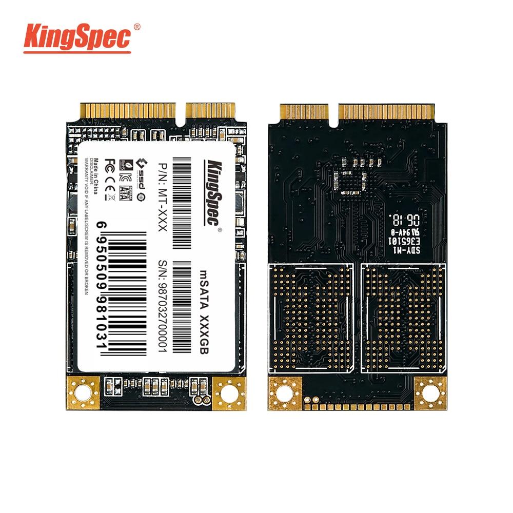 KingSpec mSATA SSD твердотельный жесткий диск SATA III 64 ГБ 120 ГБ 128 ГБ 240 ГБ 256 ГБ 500 512 1 ТБ ssd жесткий диск для ноутбука нетбук