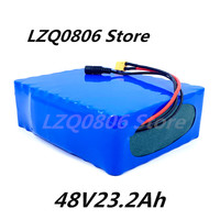 48V 23,2 ah 24Ah 13s8p 48V batterie, 54,6 V Li ion batterie mit 30A BMS, für elektrische roller und elektrische fahrrad