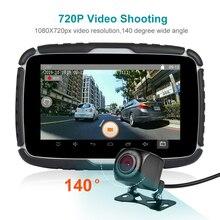 Fodsports 5 ''GPS-навигатор Android 6,0 мотоциклетный видеорегистратор IPX7 Водонепроницаемая навигация для автомобиля Moto 16G Flash Free Map gps навигатор