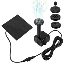 Solar Water Pump Powered Fountain 180L/H Pumps For Bird Baths Small Ponds Pool