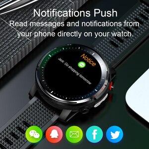 "Image 5 - L15 חכם שעון גברים מותאם אישית DIY שעון אק""ג PPG קצב לב צג פנס IP68 עמיד למים שיחת תזכורת Smartwatch PK L11 l13"