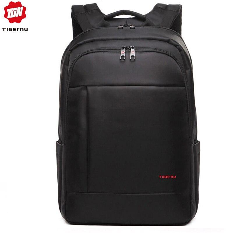 Tigernu 14 17inch Anti Theft Women Men Backpacks Travel Waterproof Nylon Classical Leisure Student Schoolbag For Teenager Boys