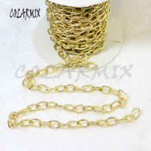 5 meters link necklace Link chain necklace  Bulk  chain  accessories high quality can keep color for jewelry making 50064