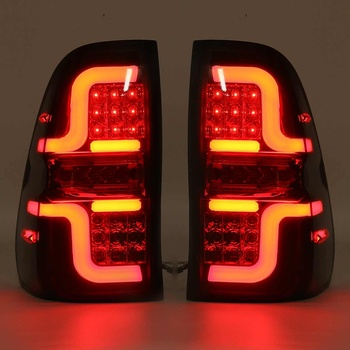 Hot Car LED Tail Light for Toyota Hilux 8 AN120 AN130 GUN1 REVO Workmate 2015 2016 2017 2018 Car Signal Rear Stop Reverse Lamp S