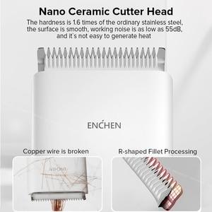 Image 3 - Mannen Elektrische Tondeuse Clipper Professionele Baard Trimmer Draadloze Usb Oplaadbare Haar Snijmachine Voor Enchen