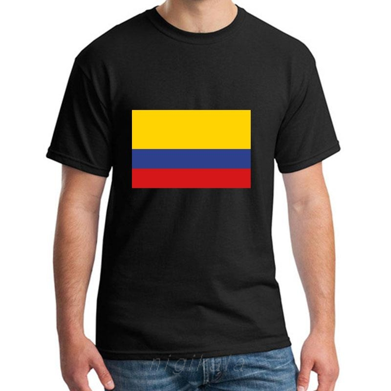 Colombia Flag Fingerprint Heart Kids Boys Girls O-Neck Short Sleeve Shirt Tee Jersey for Toddlers