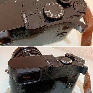 Image 3 - Ze stopu aluminium ze stopu aluminium kciuk uchwyt metalowy uchwyt kciuka Hot pokrowiec na buty mocowanie kamery dla Leica Q2 p Typ 116 czarny czerwony