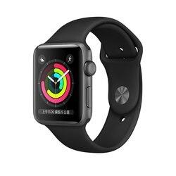 Умные часы Apple Watch 1, 3, серия 1, серия 3, мужские и женские Смарт-часы с GPS-трекером, Apple, Смарт-часы 38 мм, 42 мм, умные носимые устройства