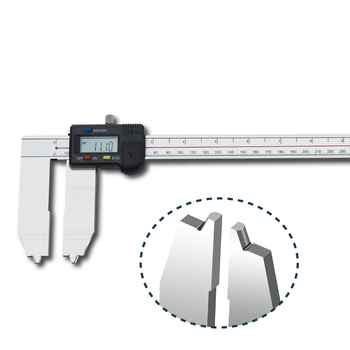 Oil Seal Groove Digital Caliper Precision Industrial Measuring Calipers Stainless Steel Measuring Tools 0-300MM 0-500MM
