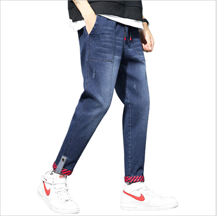 Jeans Men's Little Tide Brand Korean Men's Jeans 1115