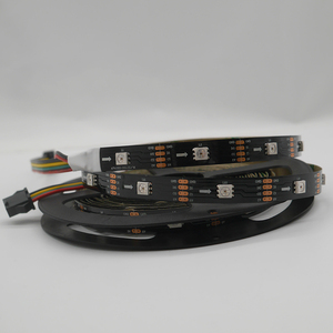 Image 4 - 5m/lot APA102 Smart led pixel strip light;DC5V 30/60 leds/pixels/m;DATA and CLOCK seperately;IP30/IP65/IP67;SK9822 led strip