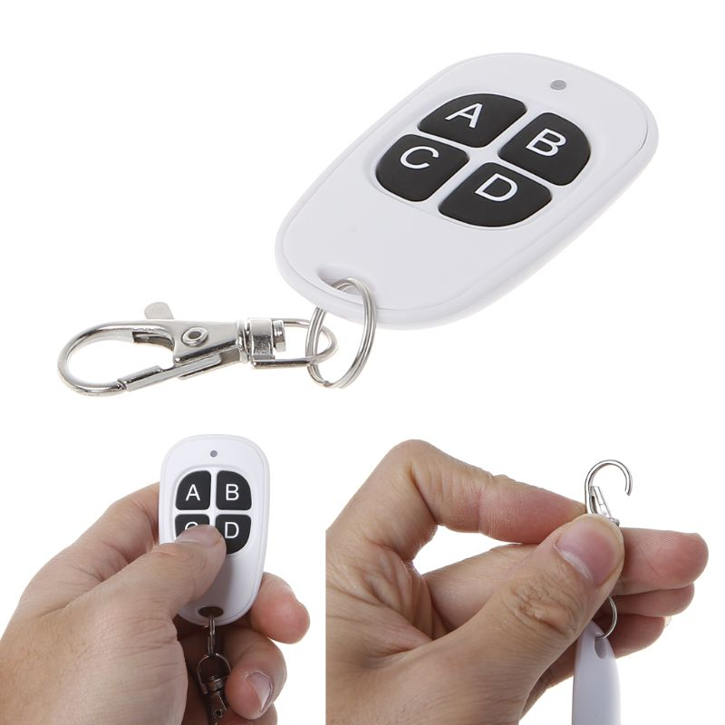 1pcs <font><b>Universal</b></font> 433MHz <font><b>315MHz</b></font> Copy <font><b>Remote</b></font> Control Cloning <font><b>Duplicator</b></font> Wireless 4 Silicone Keys Handle Garage Gate Electric Door image