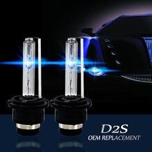 2 sztuk Xenon D2S D2R D2C ksenonowe samochodu zamiennik HID fabryki żarówki do przednich reflektorów 6000K