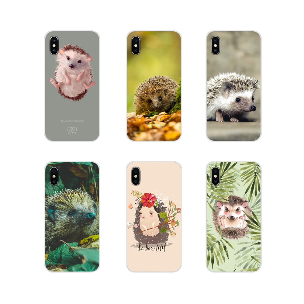 Accessories Phone Cases Covers For Motorola Moto X4 E4 E5 G5 G5S G6 Z Z2 Z3 G G2 G3 C Play Plus Cute Hedgehog