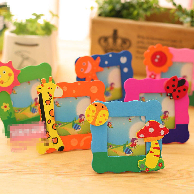 10pc Creative Cartoon Small Frame 4.5 X 4.5cm Students Gift Stationery Wholesale