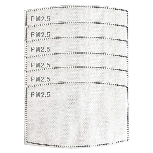 #H30 2/4/6/8/12 pcs/packs 5 Layers Filter Face Mask PM2.5 Face Mask Filter Activated Carbon Breathing Filters Adult