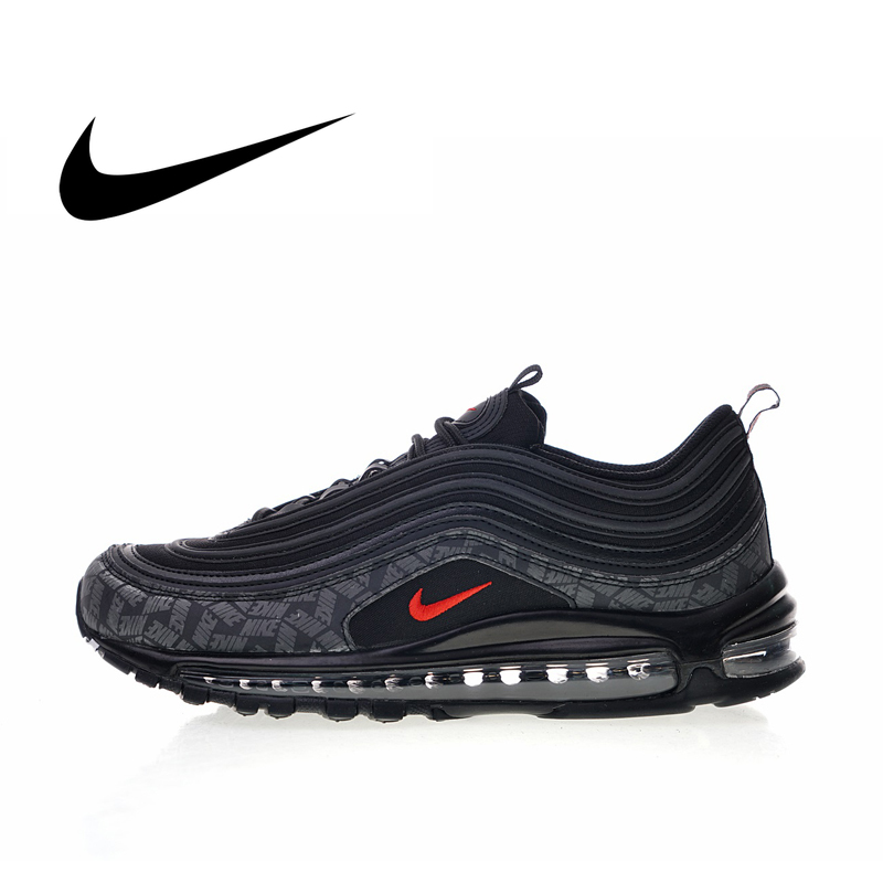 Original Nike Air Max 97 Reflective Logos 2018 Men's Running Shoes Top Quality Classic Shockproof Sport Outdoor Sneakers AR4259