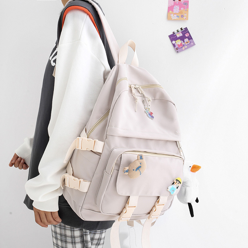 Kawaii Canvas Pastel Harajuku Backpack