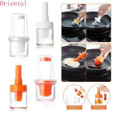 Wonderlife Barbecue Brush High Temperature Oil Brush Food Grade Silicone Baking Cooking BBQ Tools Barbecue Oil Bottle Brush