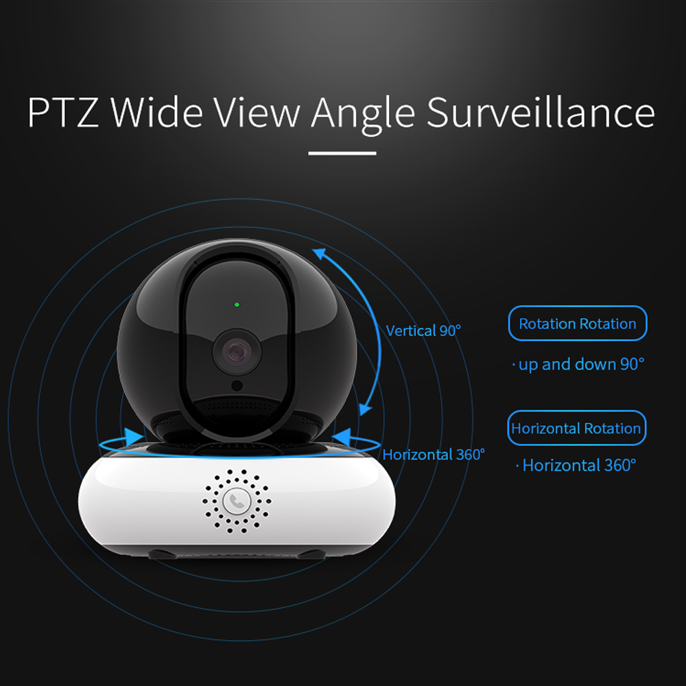 YUNSYE 1080P IP Kamera Überwachung Kamera Nacht VisionWiFi Drahtlose CCTV Kamera Überwachung P2P Baby Monitor Pet Kamera 360Eye