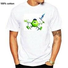 Mike Wazowski canavarlar Inc erkek tişört popüler tişört