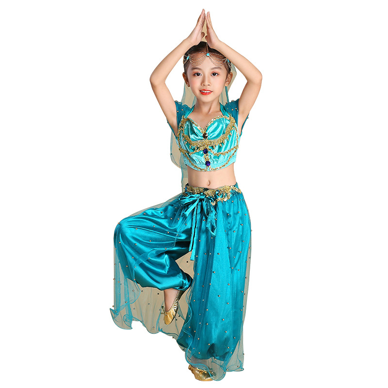 Children Girl Kids Belly Dance Costume Set Indian Belly Dress Dancewear Clothes