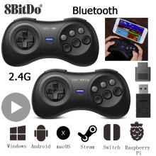 8bitdo Gamepad Joystick For Nintend Nintendo Switch Control Phone Android iPhone PC Sega Mega Drive Game Pad Joypad Controller