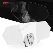 Регулируемое ветровое стекло desrik для мотоцикла регулируемое