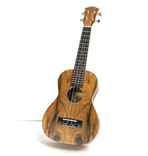цены 23 inch ukulele small guitar walnut four-stringed instrument small guitar