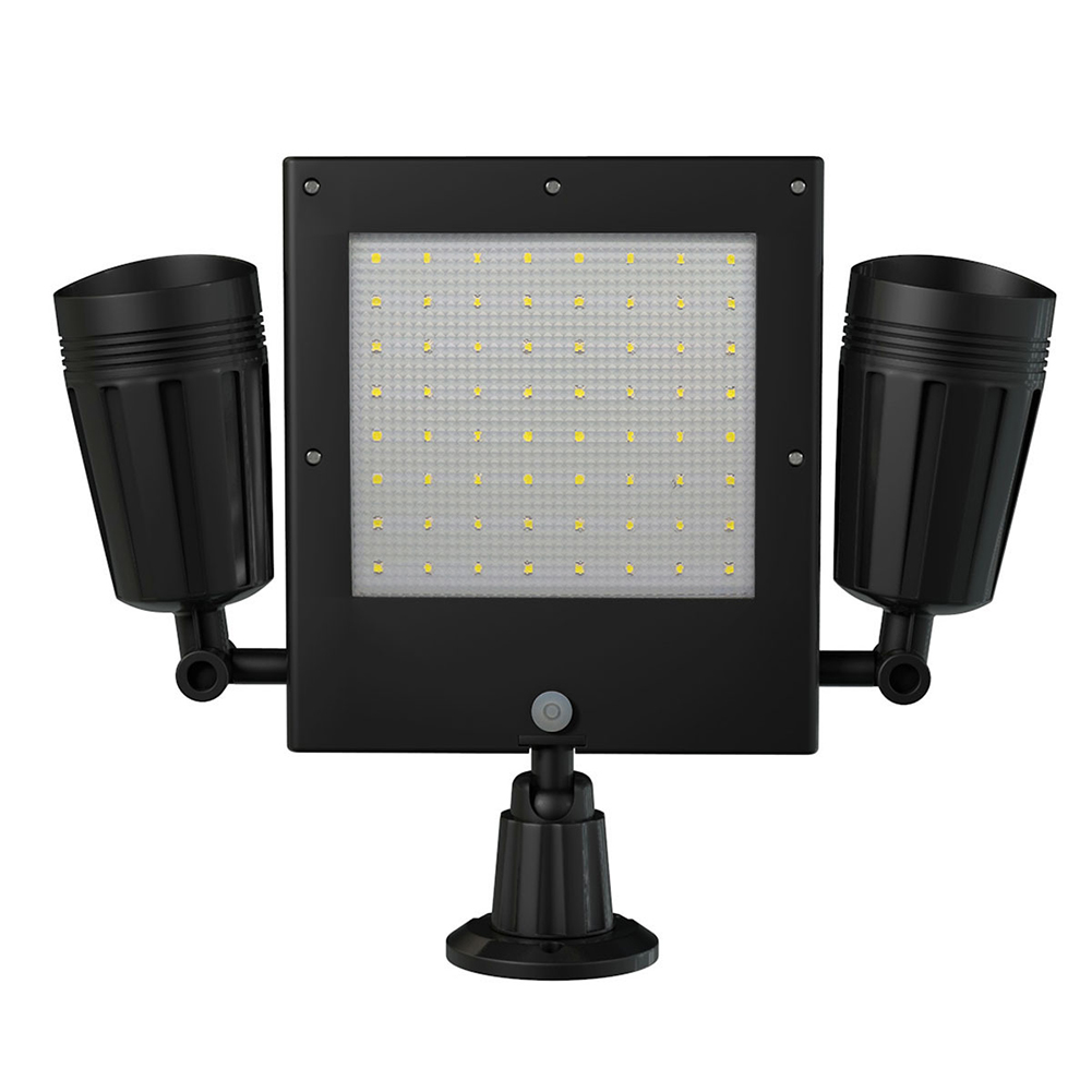 PIR Motion Sensor Energy Saving Spotlight Heat Resistant Garden Flood Light Street Outdoors Solar Powered 76 LED Easy Install