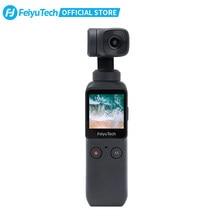 Feiyutech oficial feiyu pocket camera 6-axis estabilizou a estabilização híbrida 4k 60fps 270 mins cardan handheld