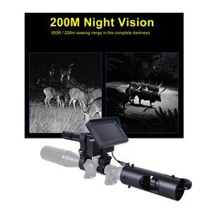 Image 2 - Nachtsicht Zielfernrohr Jagd Scopes Anblick Kamera Infrarot LED IR Klare Vision Umfang Gerät für Gewehr Nacht Jagd