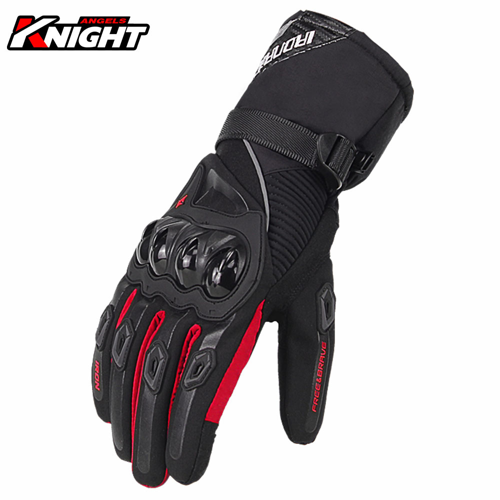 Мотоциклетные Перчатки SUOMY, мужские водонепроницаемые ветрозащитные зимние мотоциклетные перчатки, байкерские перчатки для сенсорного эк...