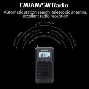 Image 4 - Retekess TR103 Pocket Portable Mini Radio FM / MW / SW Digital Tuning Radio 9/10Khz MP3 Music Player with Rechargeable Battery