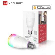 (إصدار 2020 تحديث) لمبة yeelight الذكية LED الليمون 1S الملونة 800 لومينز 8.5 واط الليمون الذكية لمبة العمل مع أبل homekit