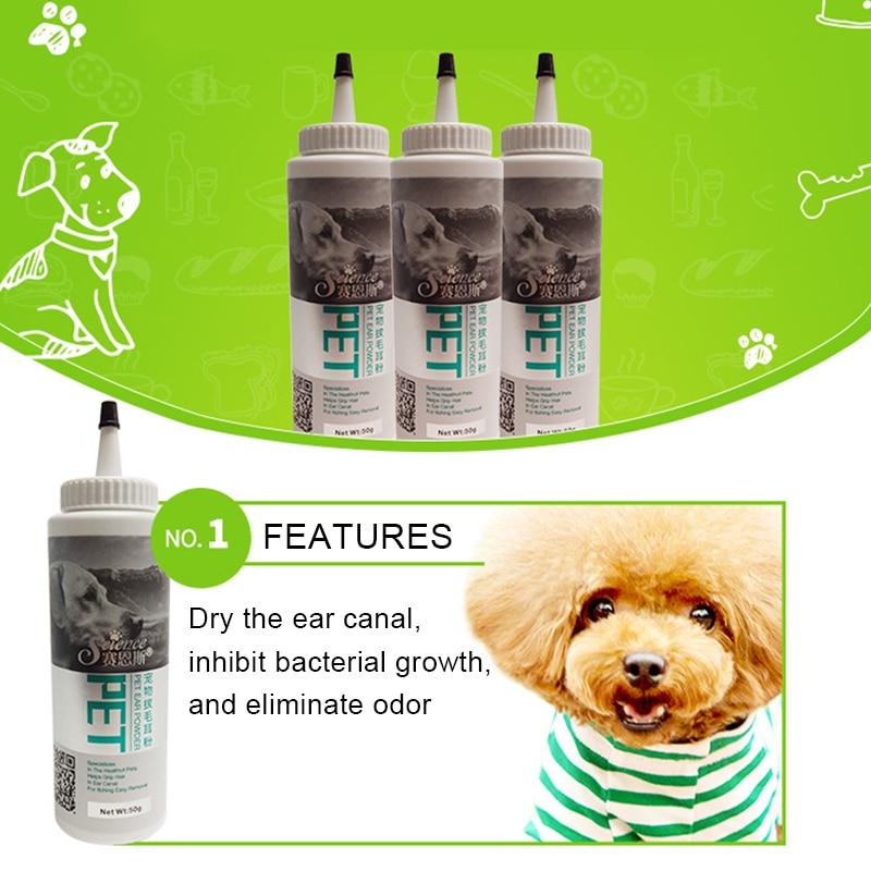 Dog Cat Ear Clean Powder Health Care Ear Fresh Grooming Ear Powder Pet Ear Care Supplies Pet Ear Cleaning Powder Pet Supplies