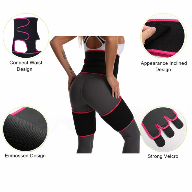 Sweat Belt Slimming Pants Yoga Belly Belt Fitness Running Leggings Sweating Sweat Fever Shaping Lose Weight Pants Leg Sheath 4