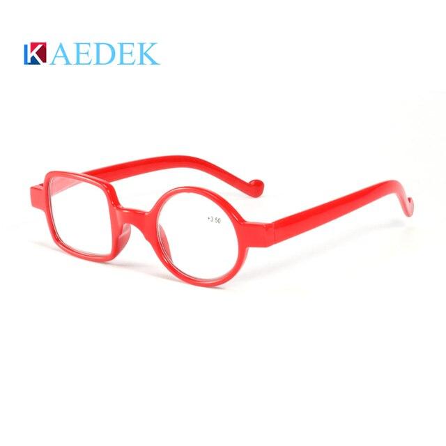 Купить kaedek чтения очки для мужчин женщин круглый винтаж для светильник картинки цена