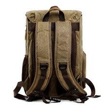 CamDress Wear-resistant camera bag National geographic photo Waterproof Batik Canvas Camera backpack dslr