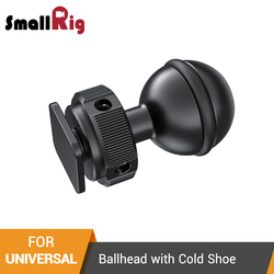SmallRig Ballhead with Cold Shoe Mount For Aluminum Alloy Quick Release Articulating Magic Arm Extension Kit  - 2383