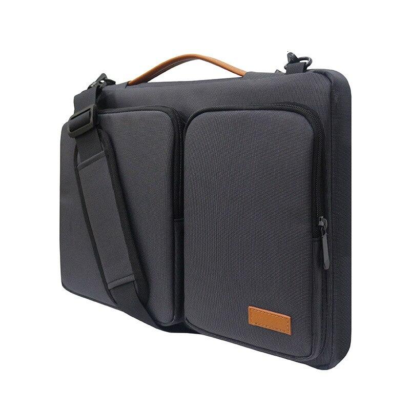 Multifunctional Computer Laptop Bag Waterproof Nylon Business Briefcases Document Bags For Men Women