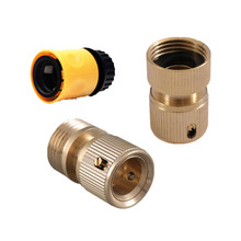 3-10PCS 3/4 Threaded Hose Connector (25mm) For Adapting Screw-type Hose Connection To Tap Connector Garden Watering Fittings tubing connect 9 5mm threaded rapid screw air fittings page 3